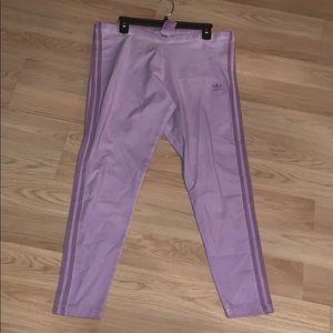 Adidas leggings purple